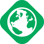 Green party values - globe