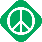 Green party values - peace